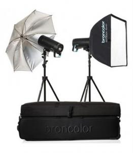 کیت فلاش استودیویی Broncolor Siros 400 S WiFi-RFS 2.1 Expert 2-Light Kit